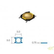 Micropulsador con tacto SMD
