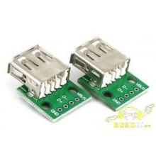 Conector USB hembra
