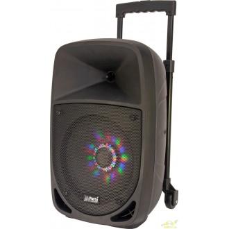 BAFLE PORTATIL 8''/20cm - 300W CON USB, BLUETOOTH, FM y MICRO