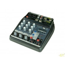 Mezclador de 4 canales. USB/BT AME-104-USB