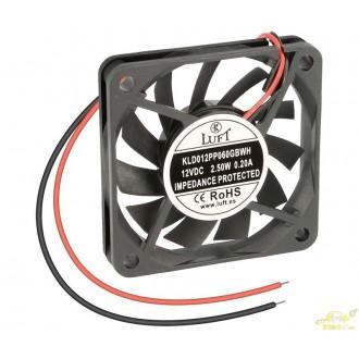 Ventilador 12v 60x60x10mm VEN008