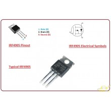 IRF 4905 TO-220 Transistor Mosfet