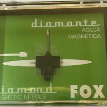 Aguja repuesto tocadiscos fox-381dst
