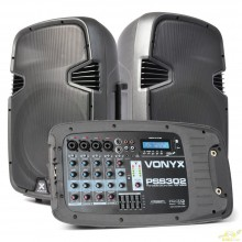 "PSS302 Set Portatil 10"" SD/USB/MP3/BT con Tripode"