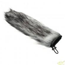 Quitavientos de pelo para Microfonos Tipo cañon 18 cm largo