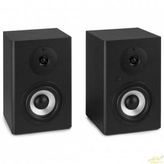 """Monitores Estudio Activo 6,5"""" pareja Vonyx SM65."""