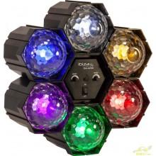 Secuenciador 6 astros led