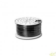 Cable Alimentacion 1X7mm Negro Etapas de Potencia.