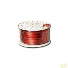 Cable Libre De Oxigeno 1X7mm Rojo Etapas de Potencia Coche.