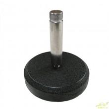 Mini base pie de microfono sobremesa 7,5 cm altura