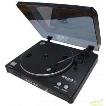 Ibiza LP300 - Giradiscos (USB, SD, con función de grabación)
