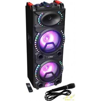 Altavoz amplificado a bateria usb mp3 radio