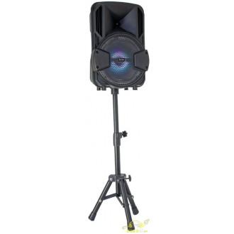 Party set 8 con tripode altavoz amplificado usb y bateria