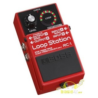 Boss RC-1 Pedal de efectos: Loop Station