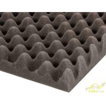 Plancha acustica Eggbox foam 200 cm x 100 cm x 30 mm