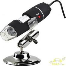500x 8 led microscopio electronico microscopio digital usb profesional.