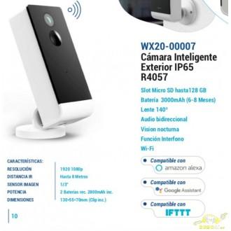 CAMARA EXTERIOR INTELIGENTE WOOX R4057
