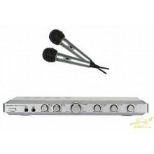 Amplificador Mezclador karaoke estéreo.