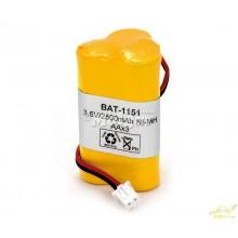 Batería para Linterna 3,6v/2500mAh NI-MH