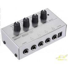 Amplificador Auriculares 1 A 4 Salidas