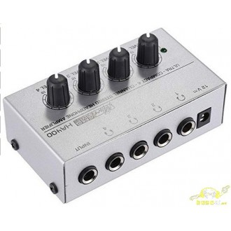 Amplifcador Auriculares 1 A 4 Salidas - Imagen 1