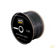 Rollo de cable DMX. 100 metros.