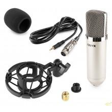 CM400 Microfono de estudio de condensador plata