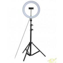 Tripode Ajustable con anillo de luz 26 cm youtube