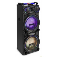 "VS210 Altavoz activo 2x 10"" BT, LED 1600W"