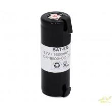 BAT535 Batería recargable Li-Ion IRC18500-18490, CON cto.de control