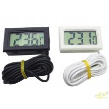 Termometro digital con sonda neveras acuarios