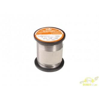 Estaño Trimetal Carrete 100gr 1mm. 60/38/2 Mbo 121408