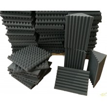 KIT 10 Paneles acusticos mas 4 trampas de graves en esquina