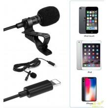 Micrófono de solapa para Iphone Conector Lightning