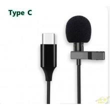 Micrófono de solapa telefonos tipo C