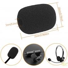 40 Fundas desechables micrófono de solapa