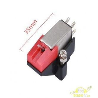 Capsula y aguja magnetica diamante fox-963