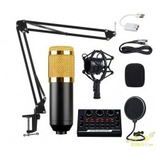 Kit grabacion micrófono de grabacion y interface audio
