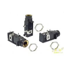 Conector jack pcb mono 1/4 6,3mm