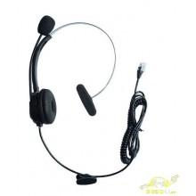 Micro auricular para call center rj9 telefono