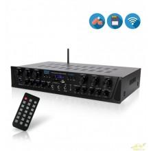 PYLE PTA66BT Amplificador Bluetooth 6 Canales 600W