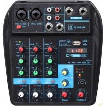 Oqan Q-Mini USB Mixer 4 canales interface Audio