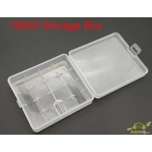 Caja para 4 baterias 18650