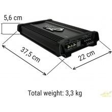 LANZAR HTG447 Amplificador 4 Canales 1400 vatios rms