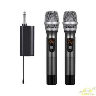 Doble micrófono de mano autónomo PDWMU214