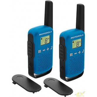 Radios walkie talkie Motorola T42 azul, 4 km