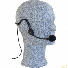 Micrófono Diadema xlr 3 Pin Negro