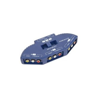 Conmutador Audio Video 3 Entradas 1 Salida - Imagen 1