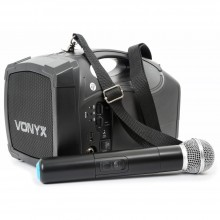Megáfono Portátil Skytec ST-010 VHF/USB