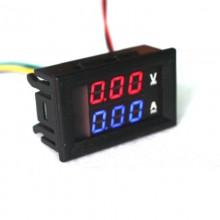 Mini Voltimetro Amperimetro De Empotrar